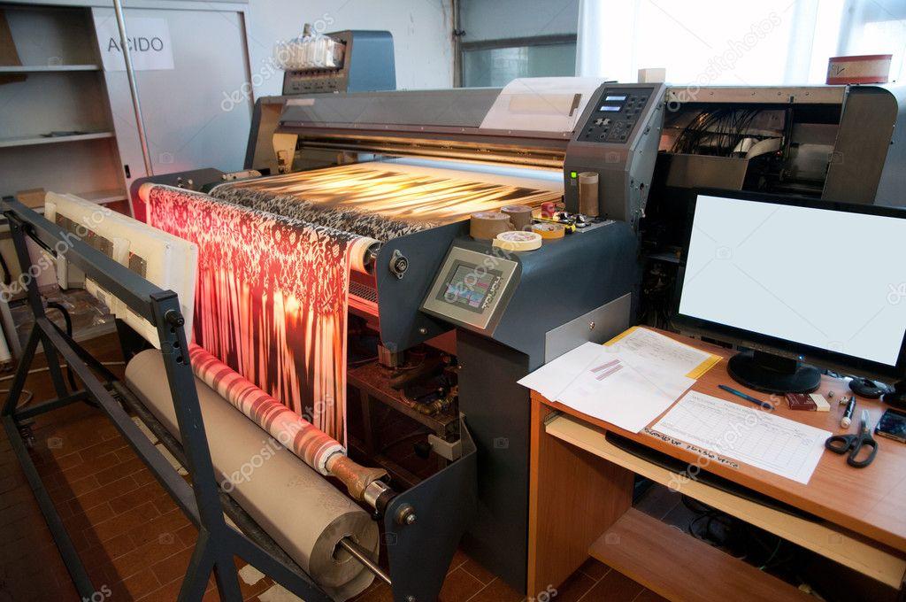 05bfbdec41 Digitális Textil szitanyomás — Stock Fotó © moreno.soppelsa #9618743
