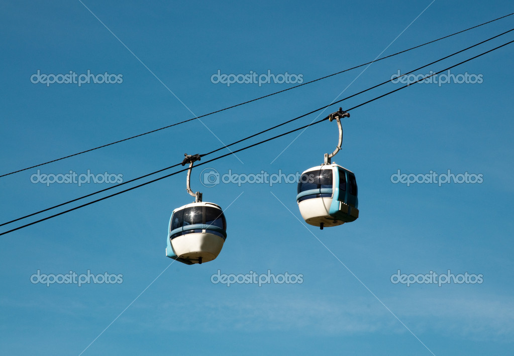 Aerial tramway (cable car) - Cermis, Cavalese, Italy