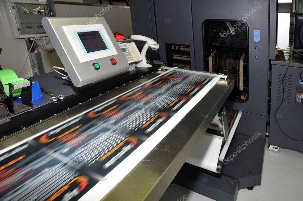 Digital printer for labels