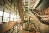 Hall a repülőtér, modern épület koncepció.