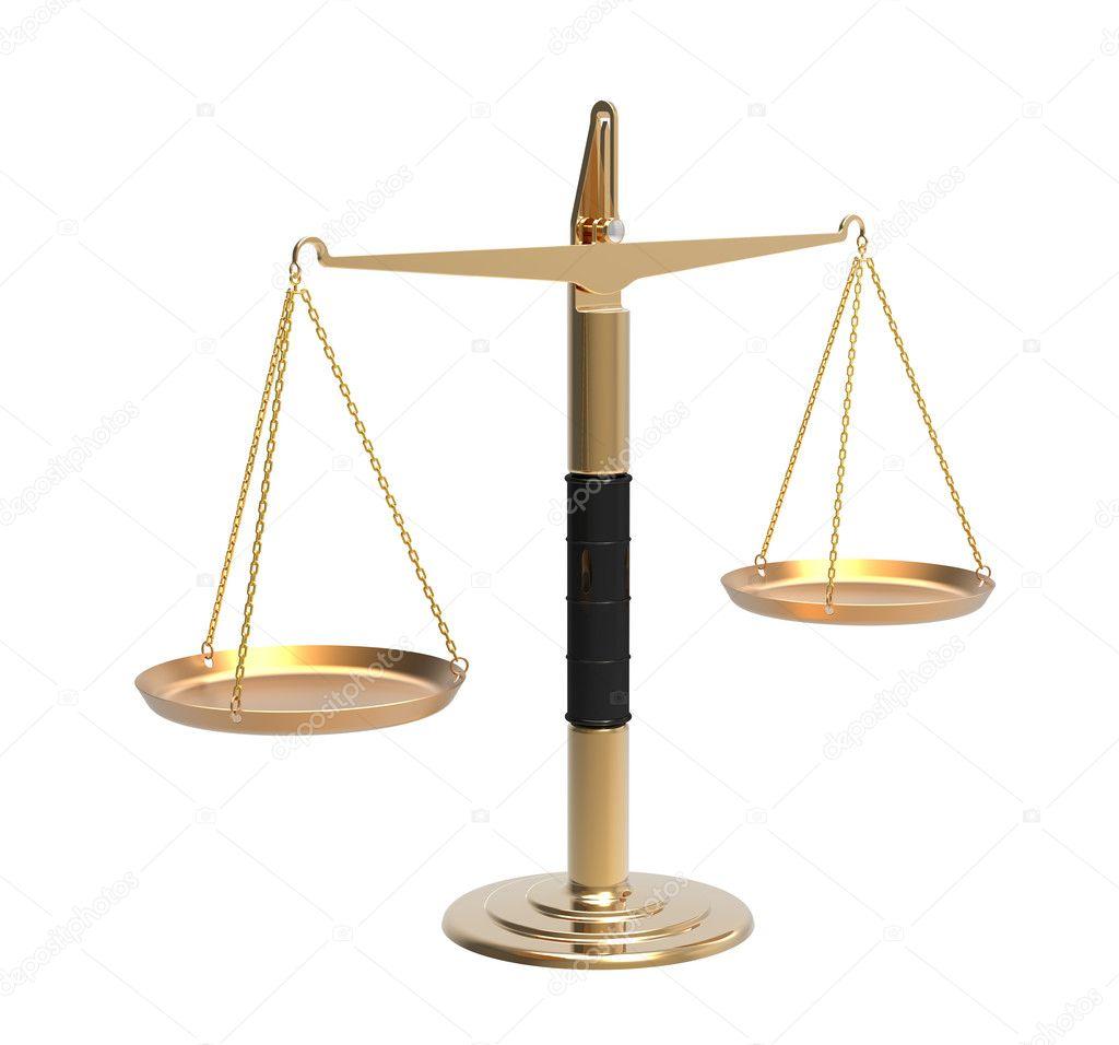 Apotheker-Waage im Gleichgewicht — Stockfoto © Boris15 #8105662