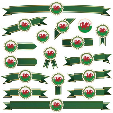 Wales ribbons