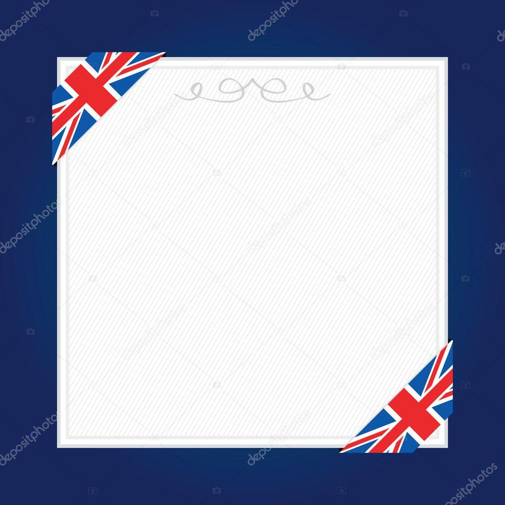 marco de Reino Unido — Archivo Imágenes Vectoriales © mattasbestos ...