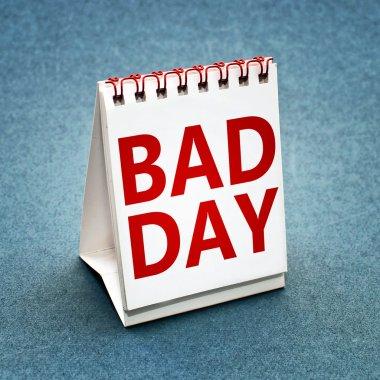 Bad day calendar