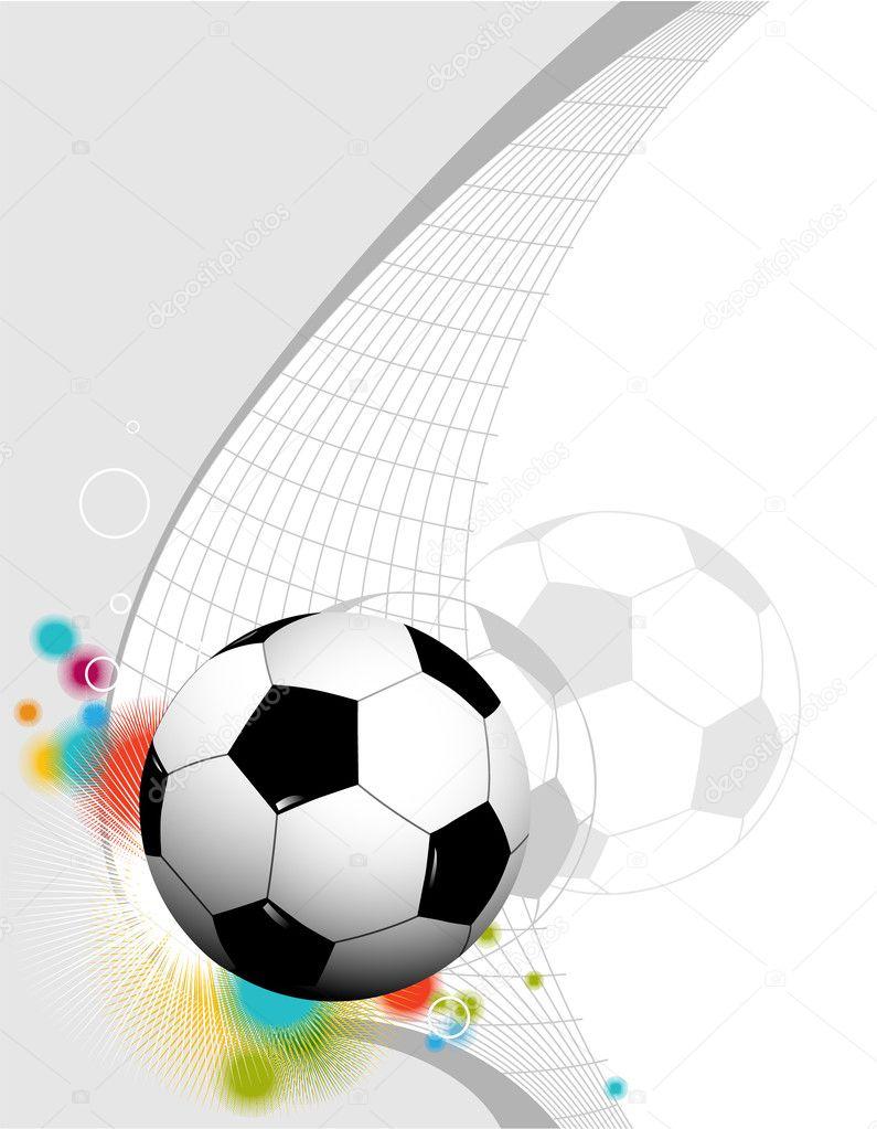Fondo abstracto de f tbol vector de stock agnieszka for Fondos de futbol