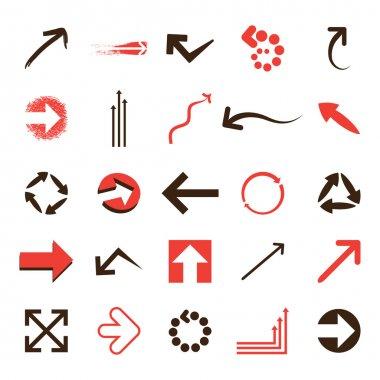 Set of Vector Arrows