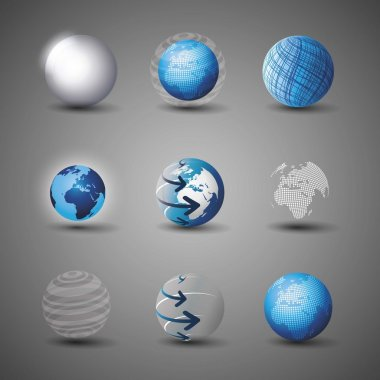 Collection Of Globe Designs