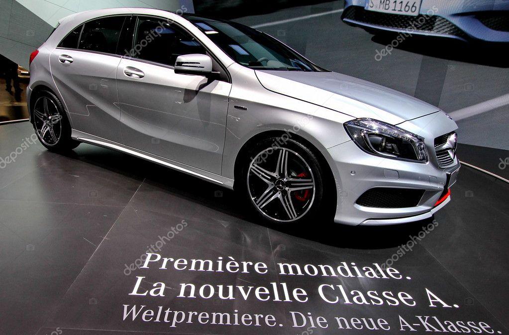 A Mercedes benz Classe A