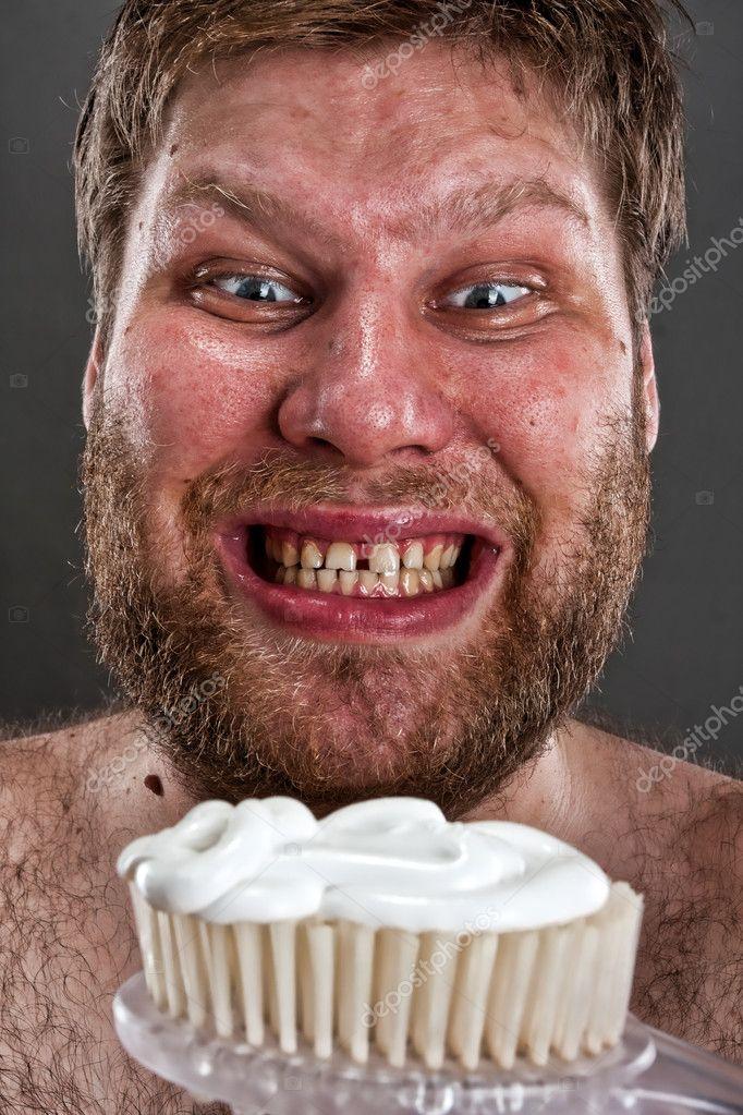 Feios escovar os dentes fotografias de stock nomadsoul1 10476879 feios escovar os dentes fotografia de stock altavistaventures Image collections