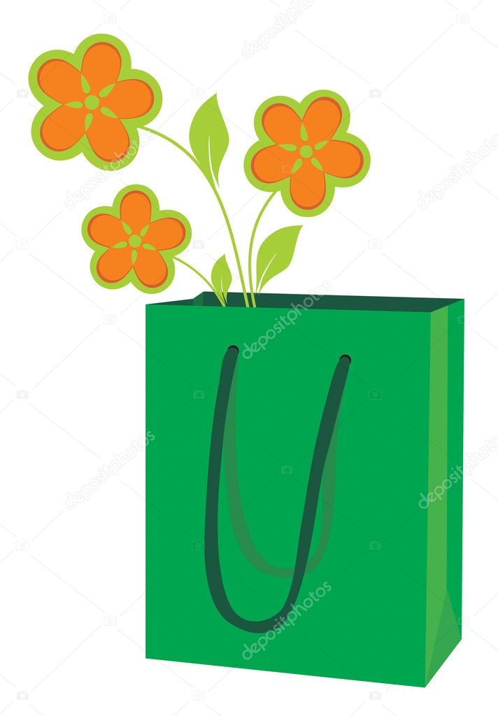 Green package for purchases