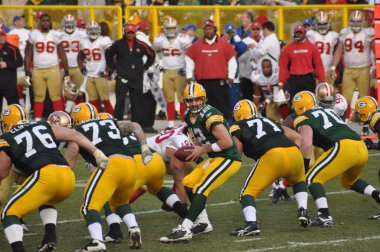 Aaron Rodger of the Green Bay Packers