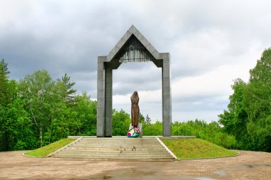 Grieving mother, Ufa, Russia