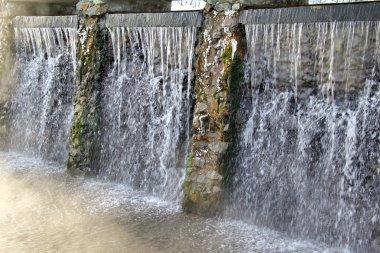 Springs of mineral water