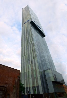 Manchester UK Hilton Beetham Tower Editorial