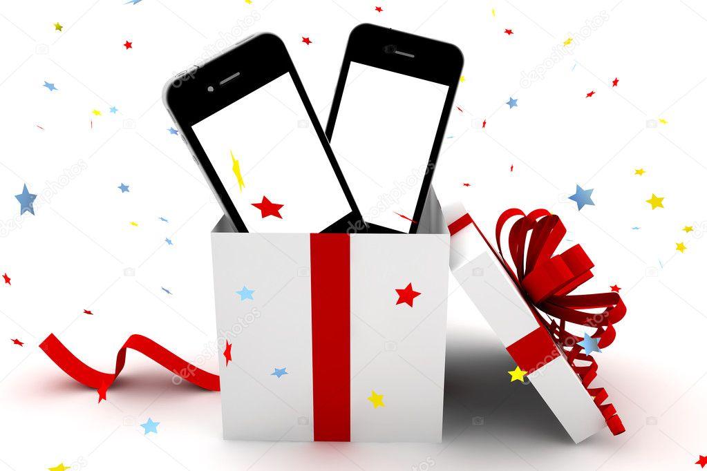 Открытки с удачной покупкой телефона
