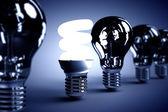 Fotografie Energiesparlampe