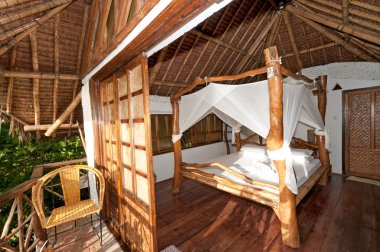 Romantic hotel room