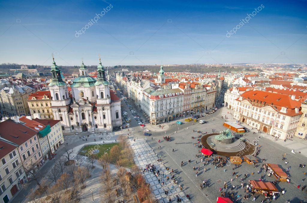 Фотообои Церковь Св. Николая на Староместской площади, Прага