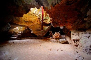 Limestone cave, Laos