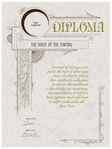 Photo Diploma template