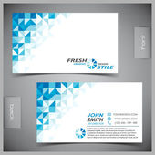 Photo Vector set of creative business cards