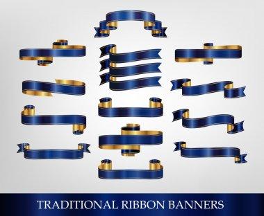 Blue Ribbon Banners