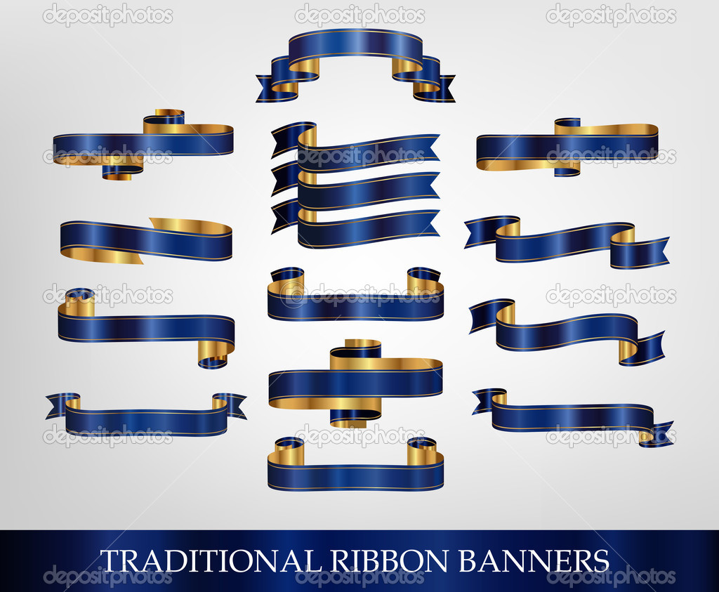 Blue Ribbon Banners