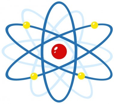 Colorful Atom