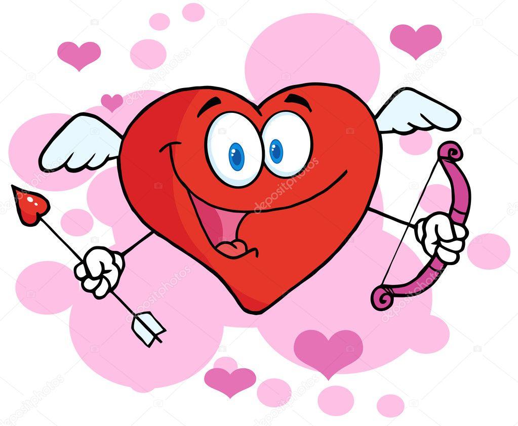 Happy Heart Cupid