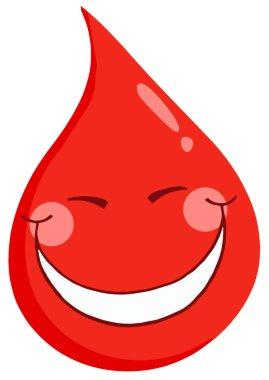 Blood Guy Smiling