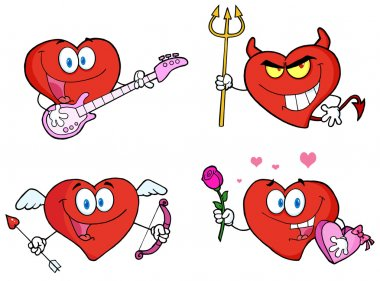 Heart Cartoon Style