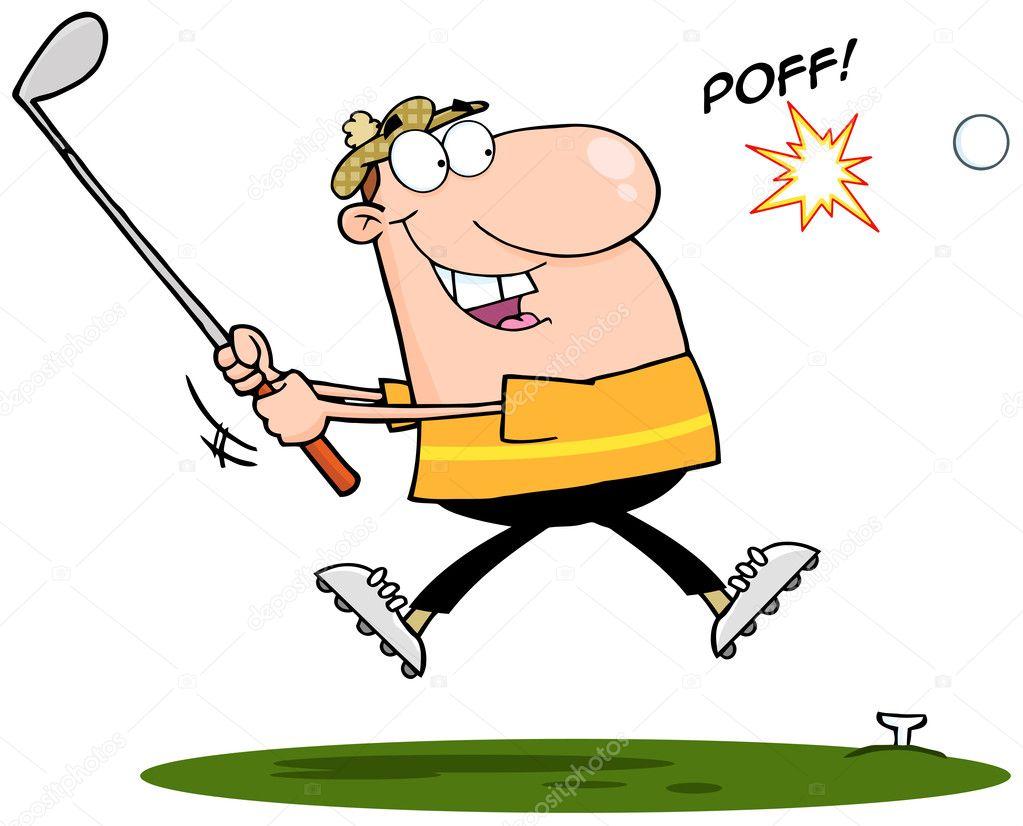 Áˆ Golf Clip Art Stock Pictures Royalty Free Golf Cartoon Pics Download On Depositphotos
