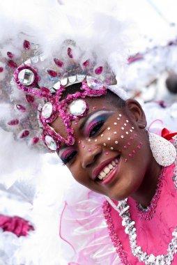 Young Carnival Reveler