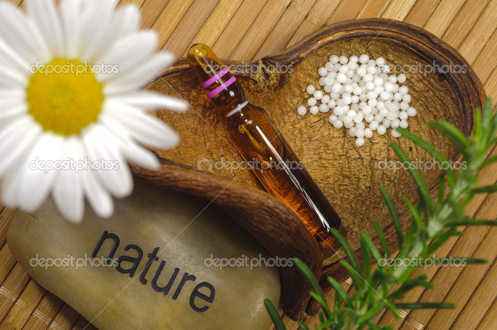 Alternative medicine with homeopathy