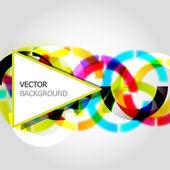 abstraktní vektorové pozadí