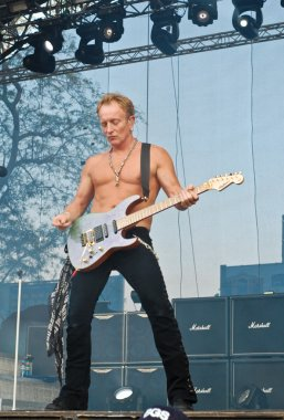 Def Leppard performs at Romexpo