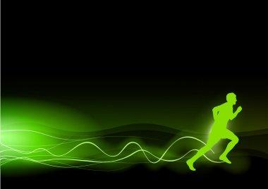 Green runner