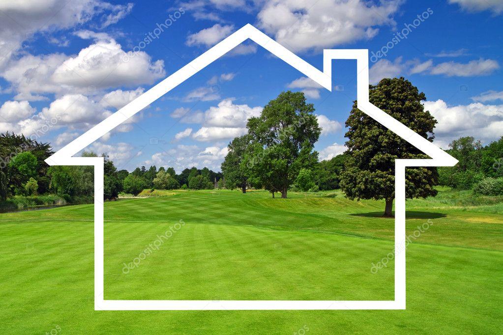 Een Nieuw Huis : Een nieuw huis symbool u2014 stockfoto © patryk kosmider #10073090