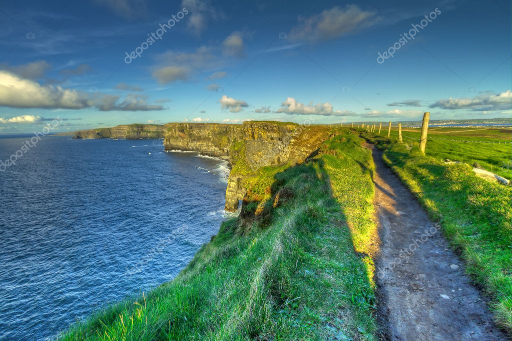 Cliffs of Moher in Co. Clare