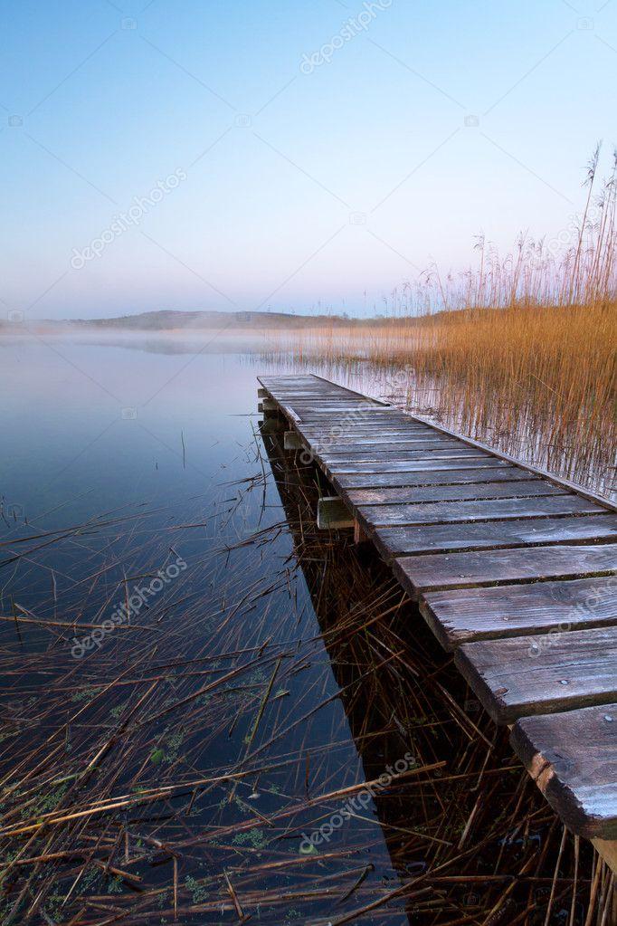 Фотообои Irish lake before sunrise