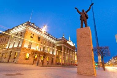 Jim Larkin monument in Dublin