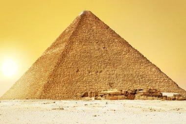 Sunset at Great Pyramid