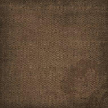 Brown album page, vintage background