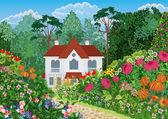 dům v zahradě