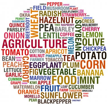 Agricultural words