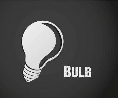 label design of bulb