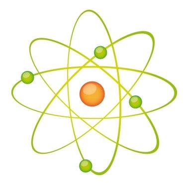 green atom vector
