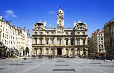 Lyon, city hall, France