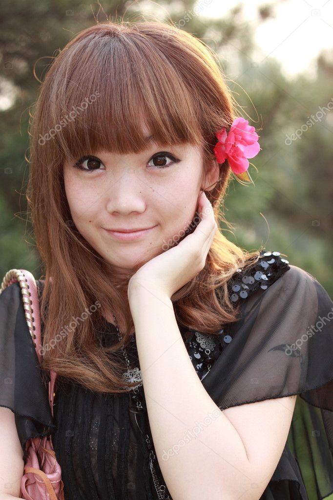 Lovely asian girl