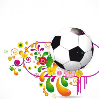 Soccer Ball vector background